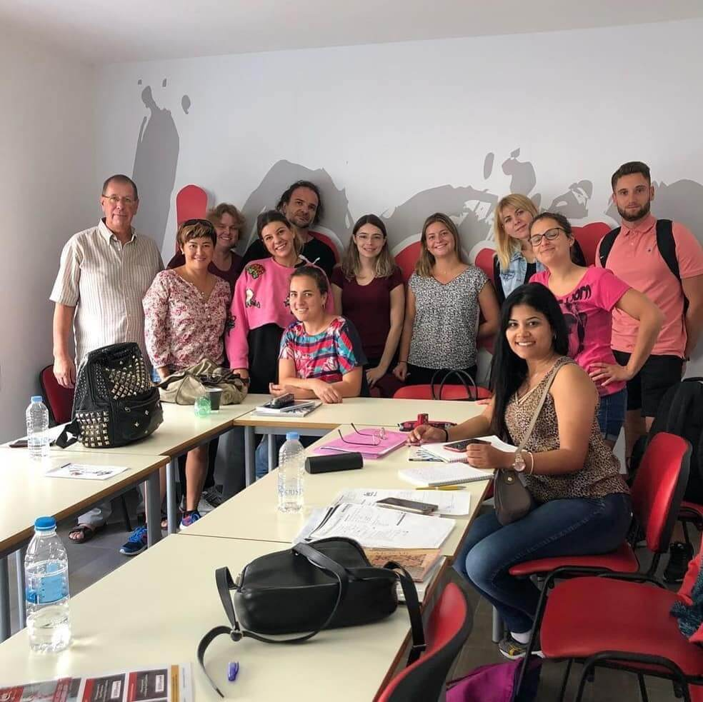 classroom english courses malta