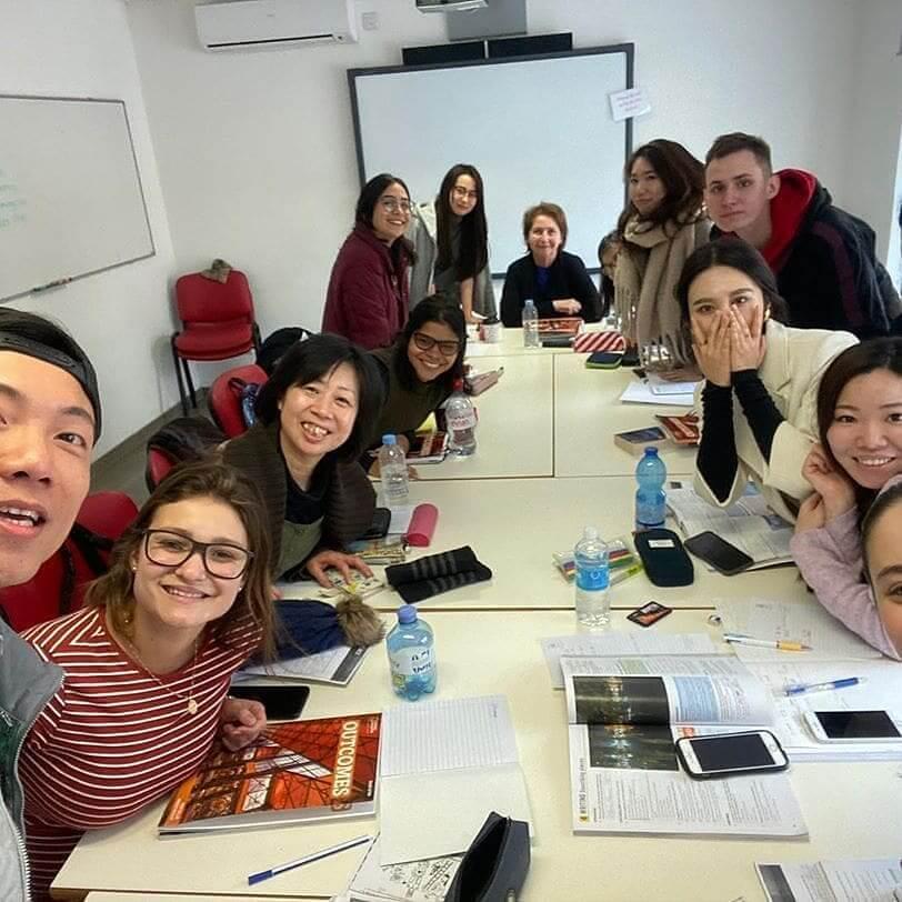 classroom student malta ielts