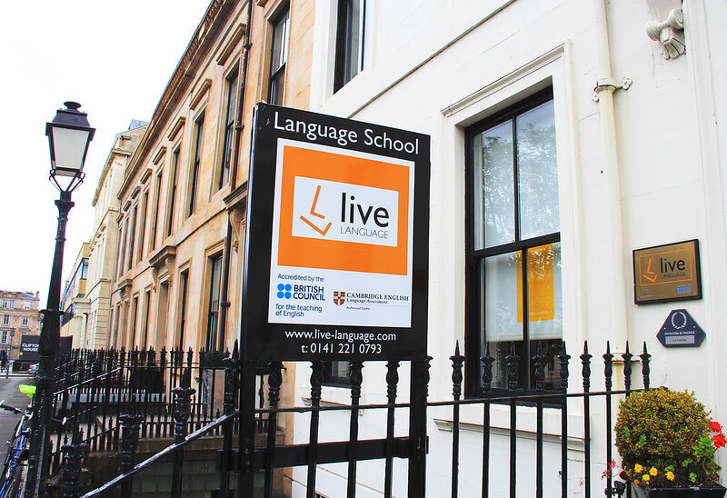 live language glasgow building
