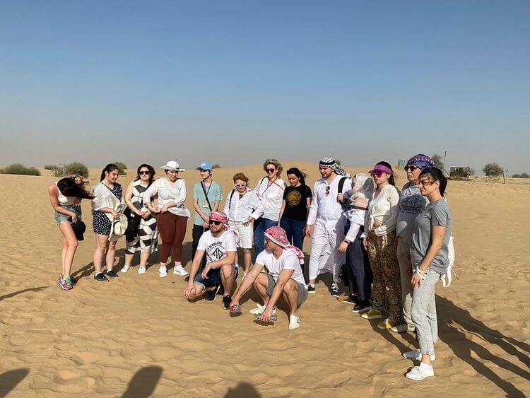 es dubai desert group