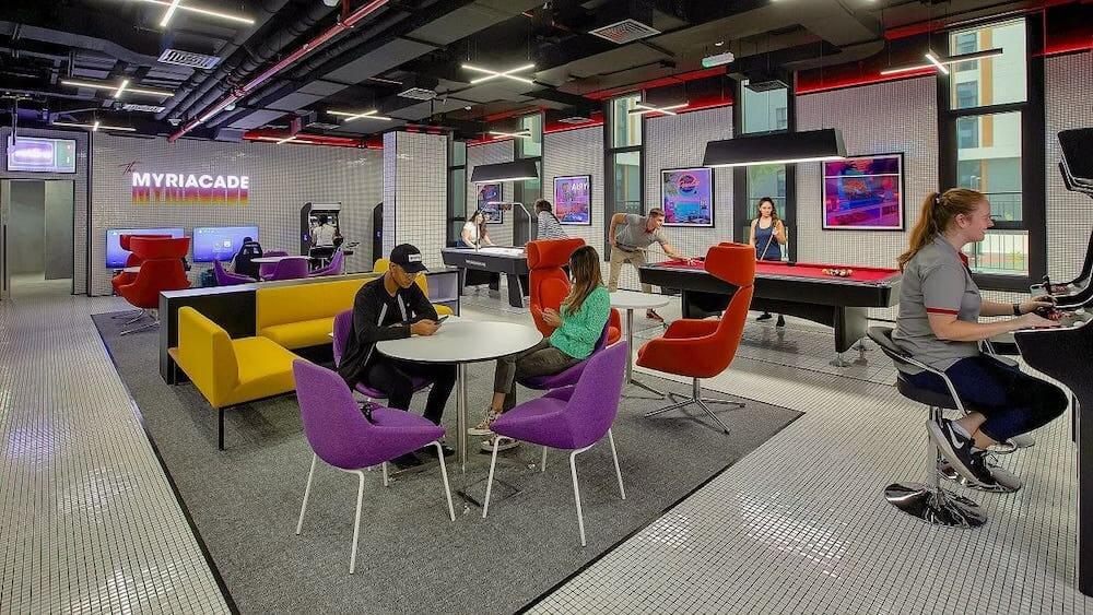 es Dubai The Myriacade Gaming Room 1
