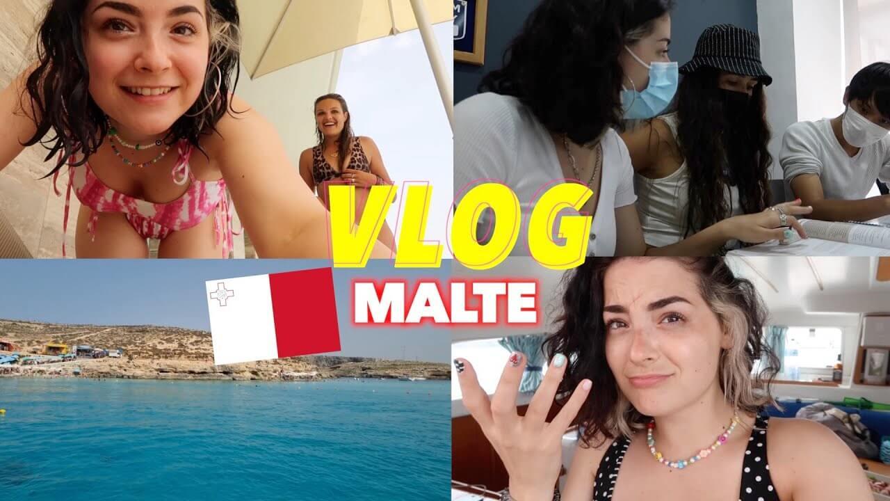 Worddy invite l'influenceuse Clémentine en séjour linguistique à Malte