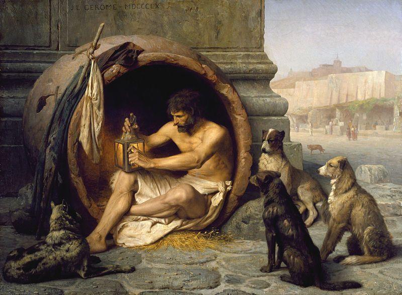 Diogenes v sude
