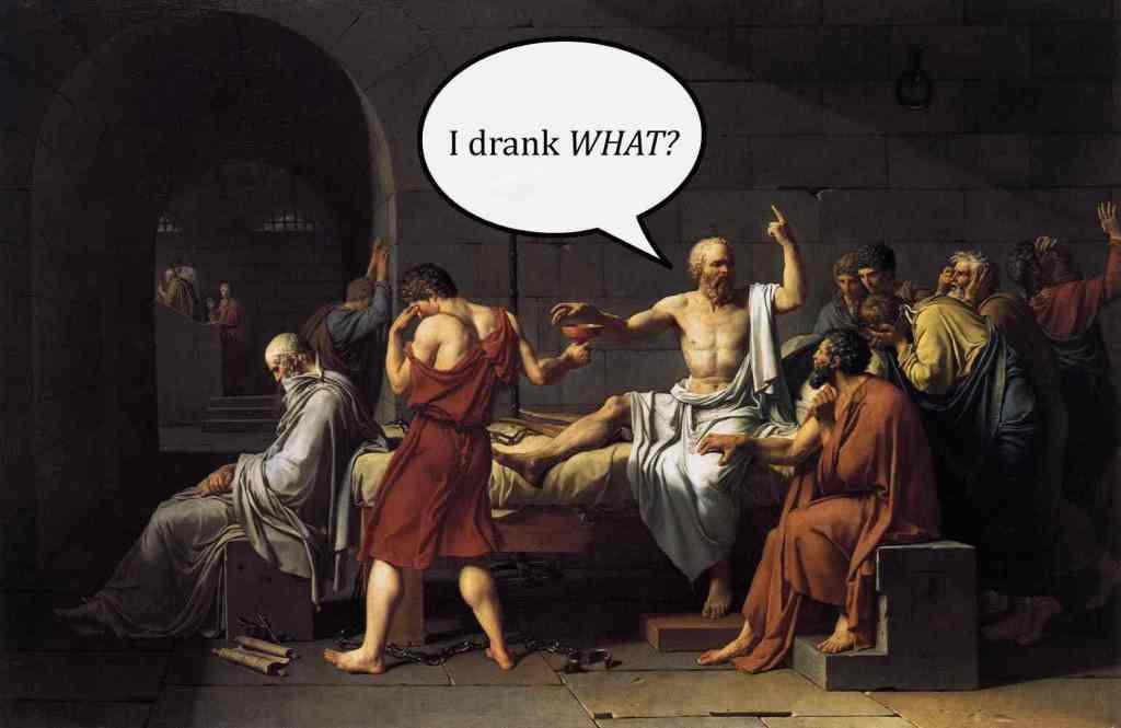 Sokrates má bolehlav