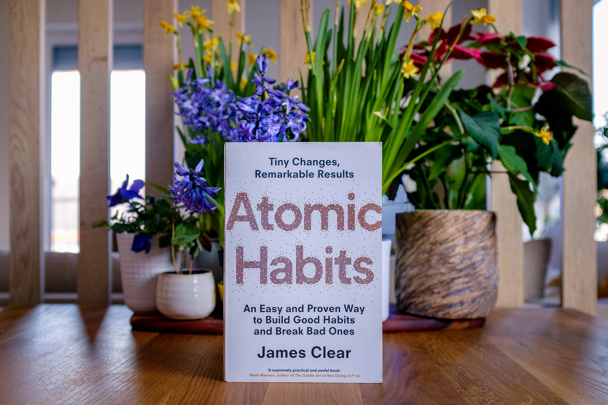 kniha Atomic Habits