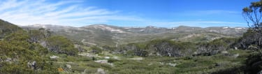View from the Charlotte's pass viewing platform