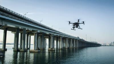 Hidak átvizsgálása, ellenőrzése, felmérése drónnal