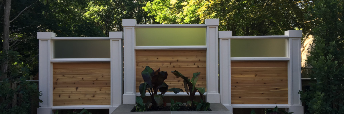 Privacy screens & Address walls