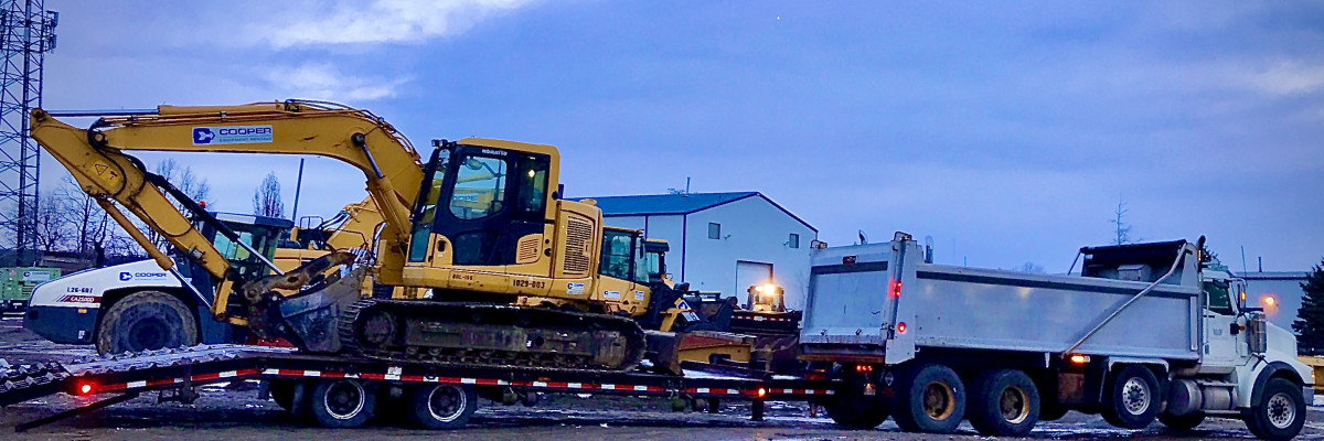 Excavating and Haulage