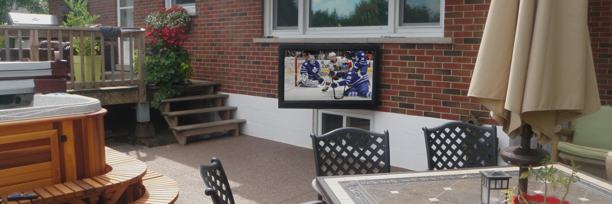 Outdoor TVs and Audio Systems