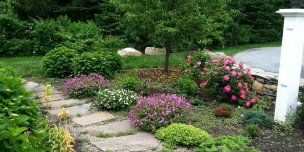 An Entry Garden