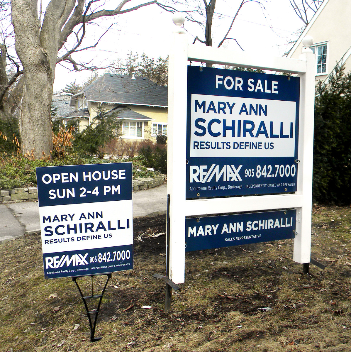 Real Estate Signs, Sign Posts, Open House Signs, A Frames, OREA ...