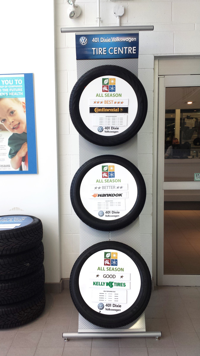 Tire Dealer Signs Tire Displays Tire Banners Tire