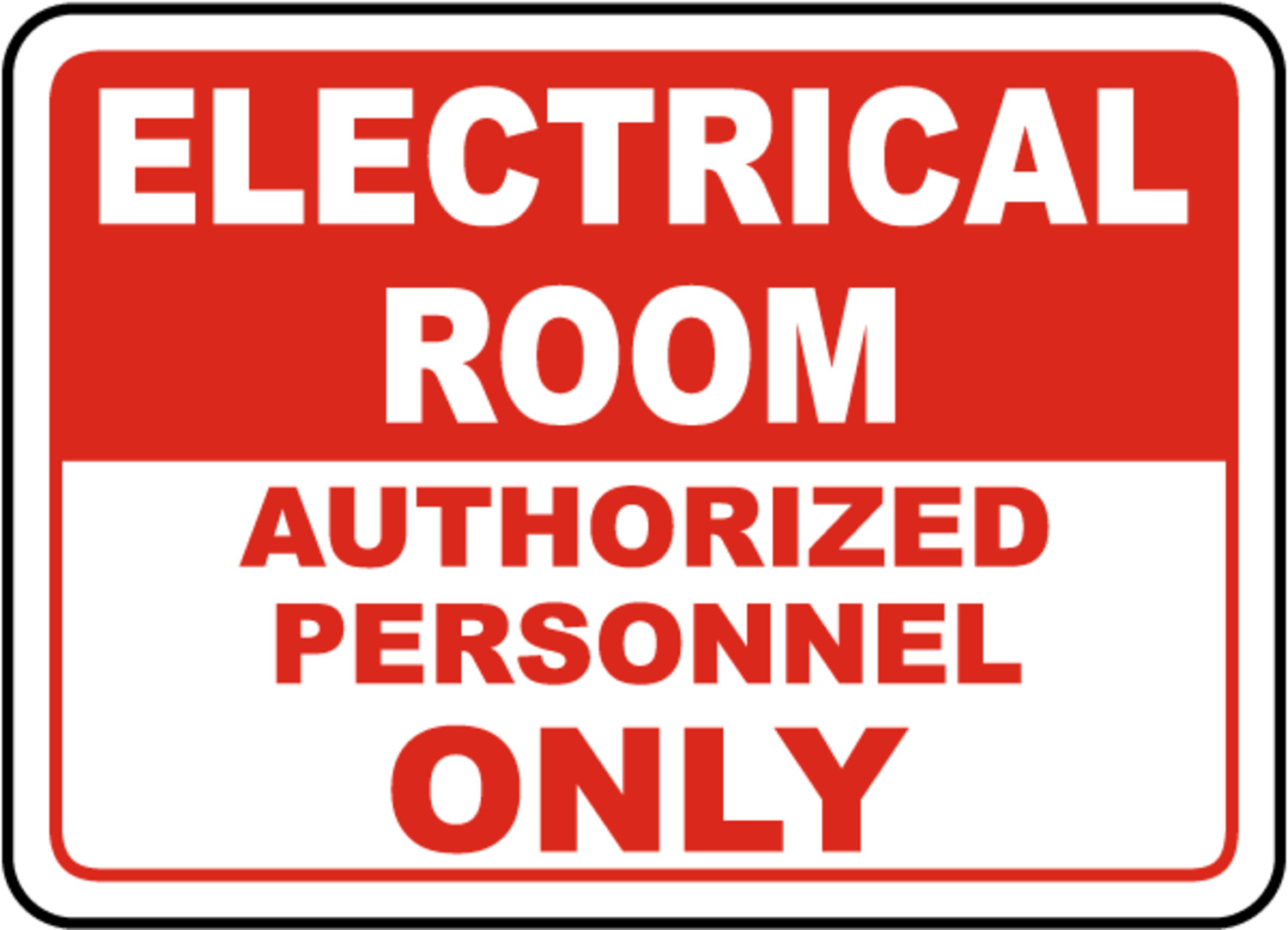 Engraved Lamicoid Signs Engraved Safety Signs Electrical
