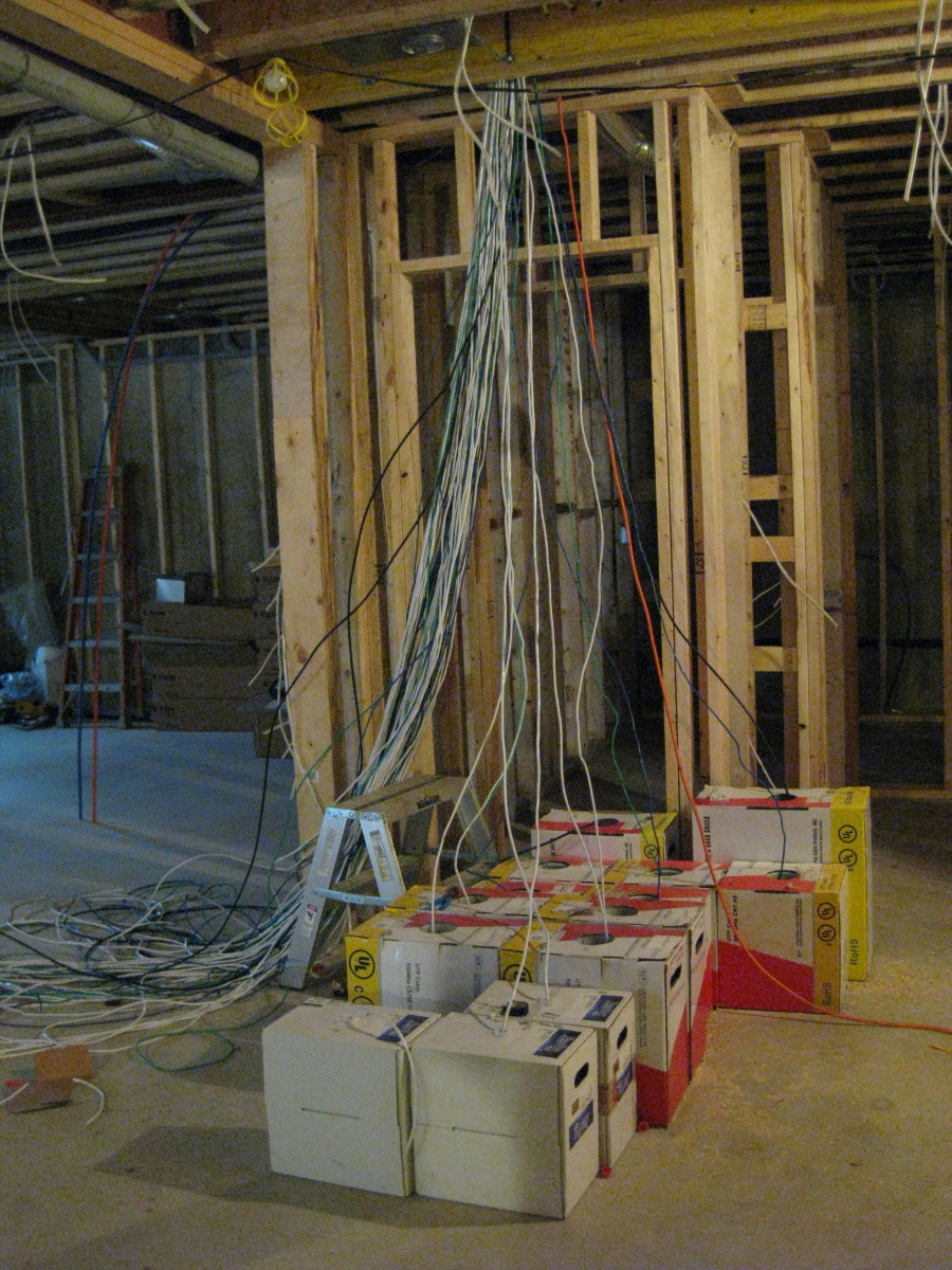 New Construction Smart Home Wiring