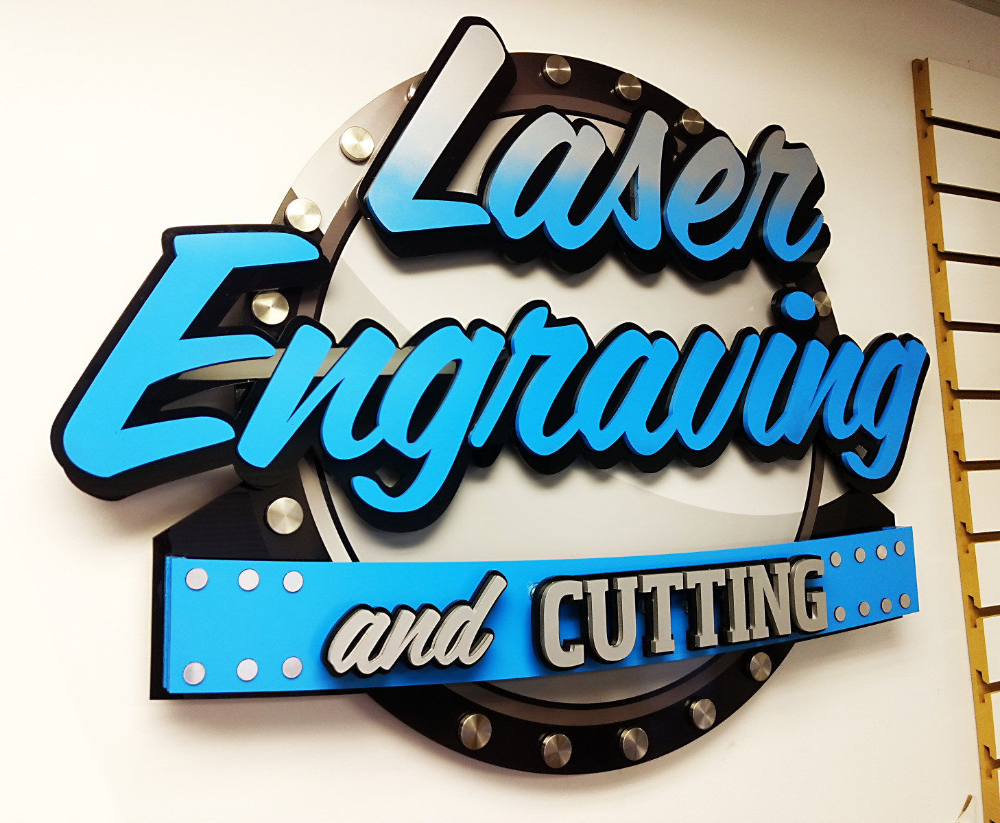 3 Dimensional Laser cut Letters and Logos, Carved Wood Signs