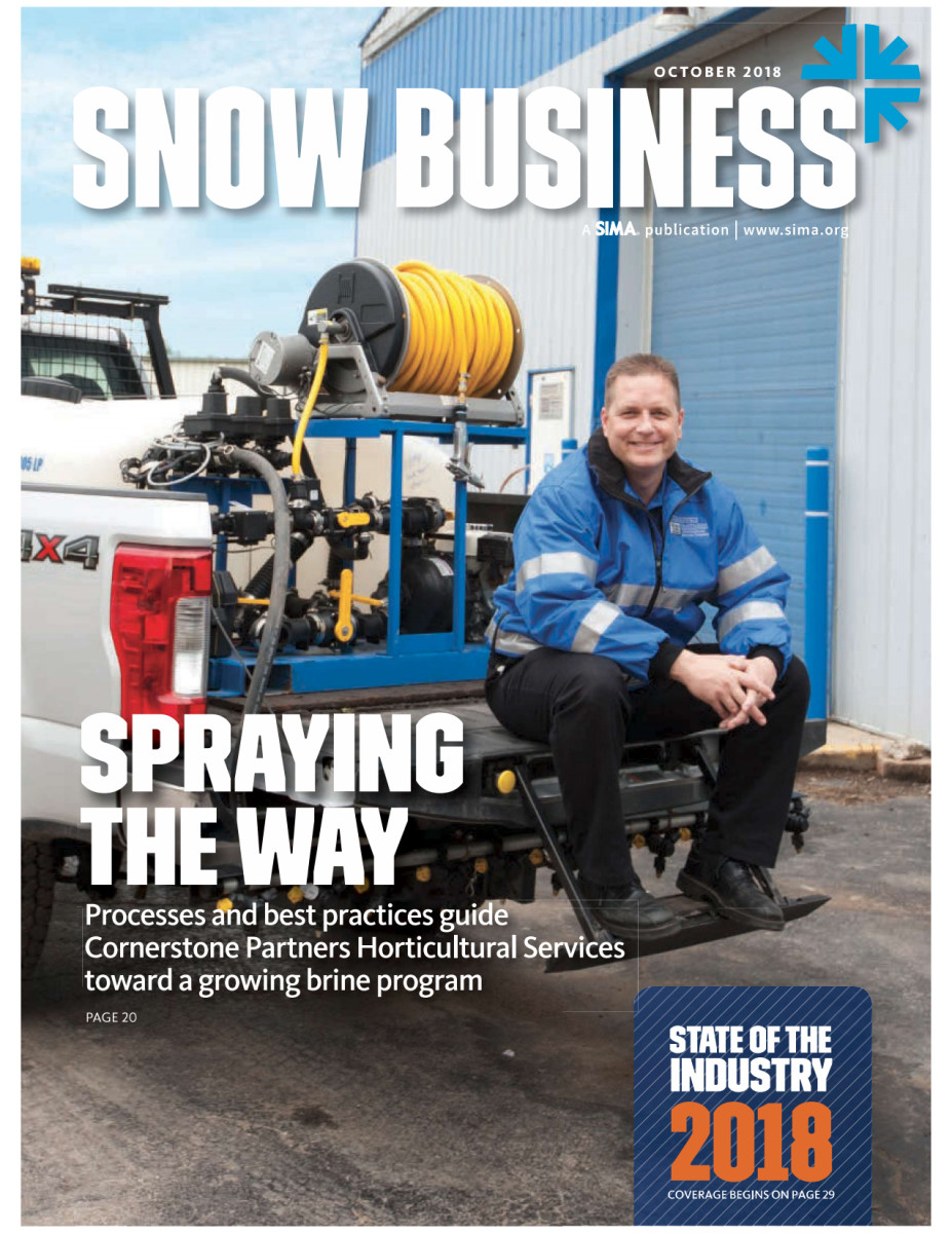Commercial Snow & Ice Management | Cornerstone Partners