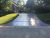 AFTER: Stamped Concrete Sealed