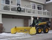 Snow Containment Plowing