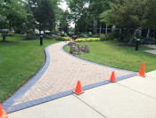 IN-PROGRESS: Paver border installation