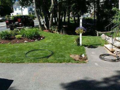Irrigation install (Woburn, MA)