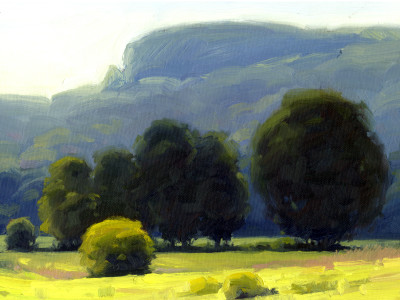 Field Study #2 9X12 | oil on panel  |  SOLD