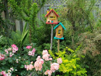 Birdhouses by L'Art Verre