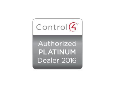 2016 Control4 Platinum Dealer Status