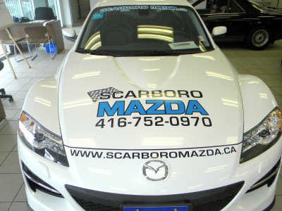 Custom Car Show Graphics