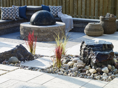 Add outdoor furniture and bring your space alive