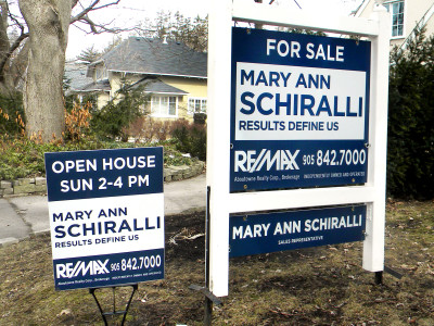 Real Estate Signs, Sign Posts, Open House Signs, A Frames, OREA Graduate Package