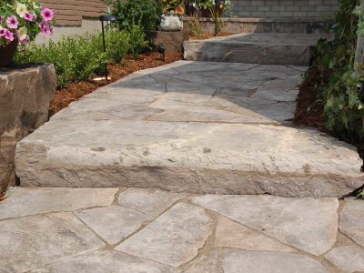 Natural stone is the perfect solution for stairs
