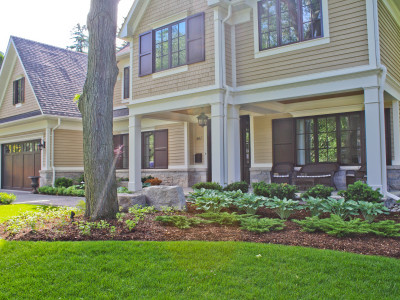 Greenery can soften the appearance of your home, creating an inviting, welcoming atmosphere.