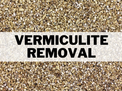 Certified Workers to Remove Asbestos Contaminated Vermiculite Insulation.