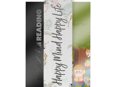 Remind people who your business is with these beautiful bookmarks.