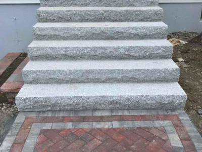 Completed - New walkway & planting (Woburn, MA)