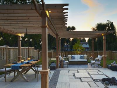 Pergolas add structure to landscape design