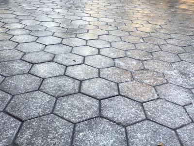Unilock Hex paver