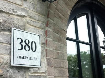 Custom Address Signs, House Numbers, Cottage Signs