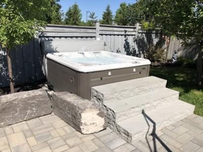 Hot tubs extend the season
