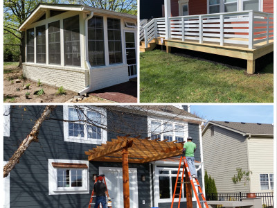 Decks and Screened in Porch