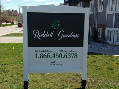 Custom Panel & Post Premium Property Signs
