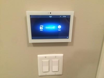"""Control4 7"""" Touchscreen"""