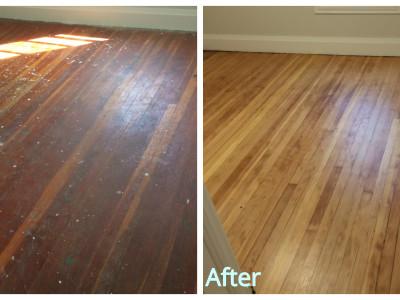 Hardwood Flooring - Sanding