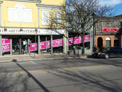 Moving Sale windows, Burlington Ontario