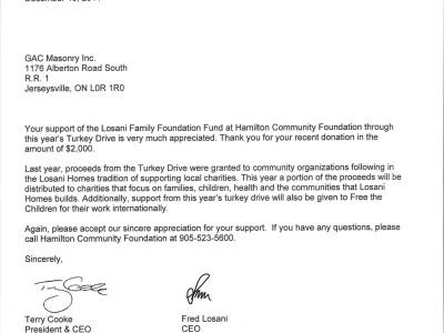 Hamilton Community Foundation (2014)