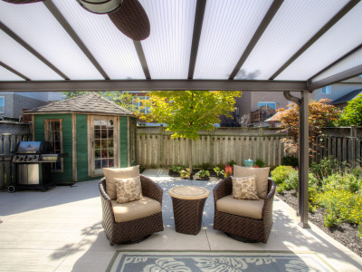 Garden shed & patio cover