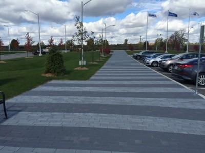Modern and clean Unilock Artline paver