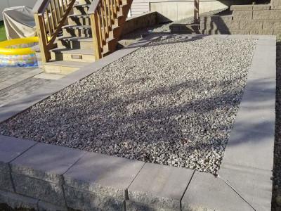 Completed - Shed platform (Woburn, MA)