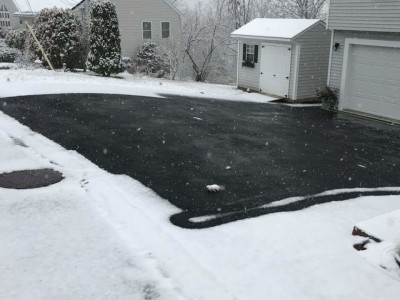 Completed - Heated driveway (Woburn, MA)